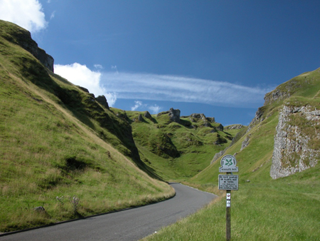 Who put that there? Winnats Pass Looms
